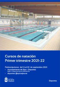 Cursos de natación de la piscina cubierta de Ejea de los Caballeros