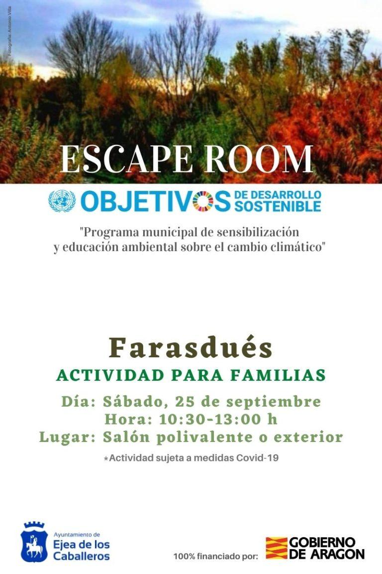 Escape room Farasdués