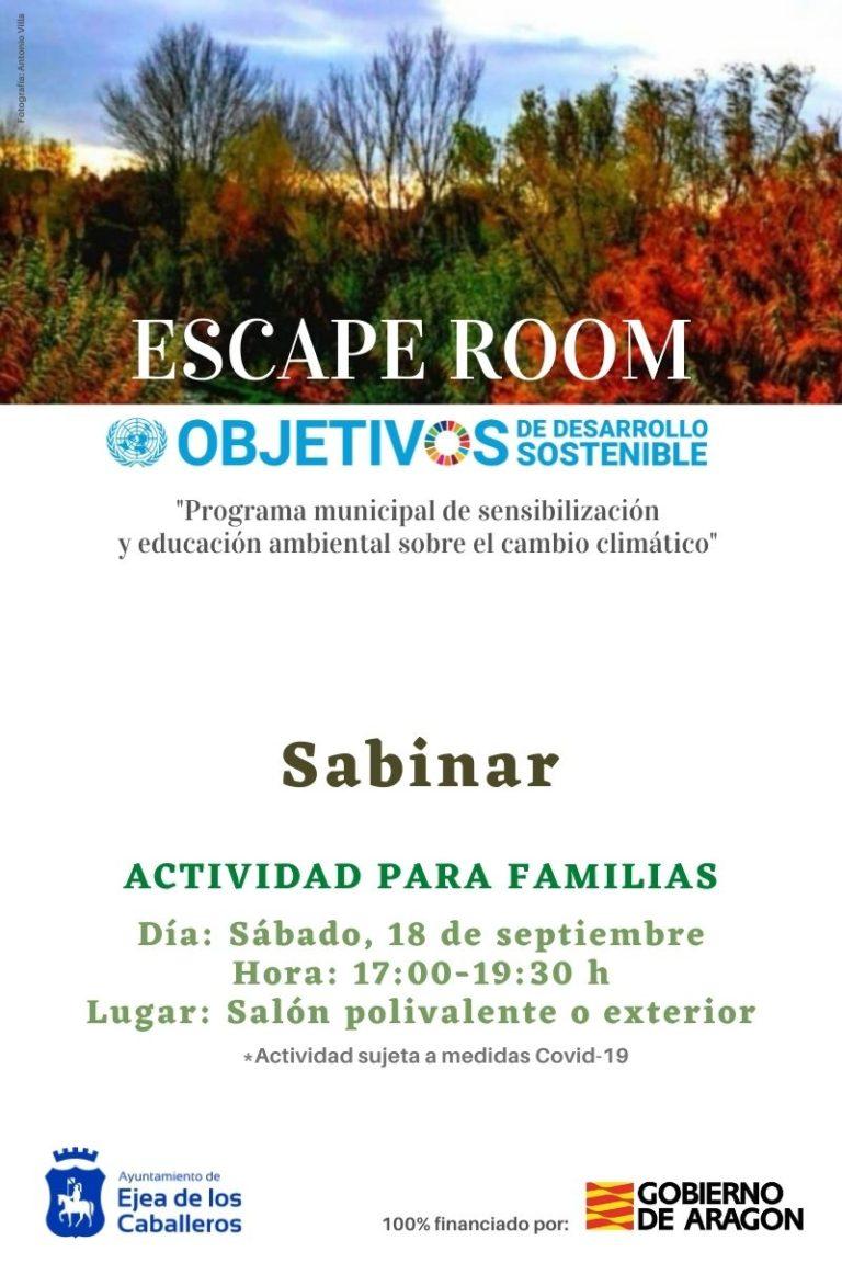 Lee más sobre el artículo Escape Room Sabinar