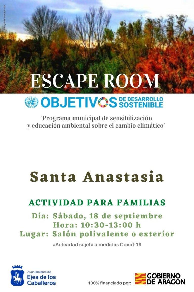 Lee más sobre el artículo Escape Room Santa Anastasia