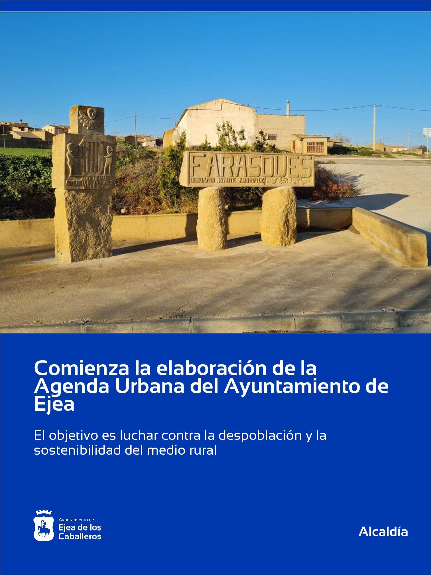 El Ayuntamiento de Ejea de los Caballeros comienza con la elaboración de su Agenda Urbana