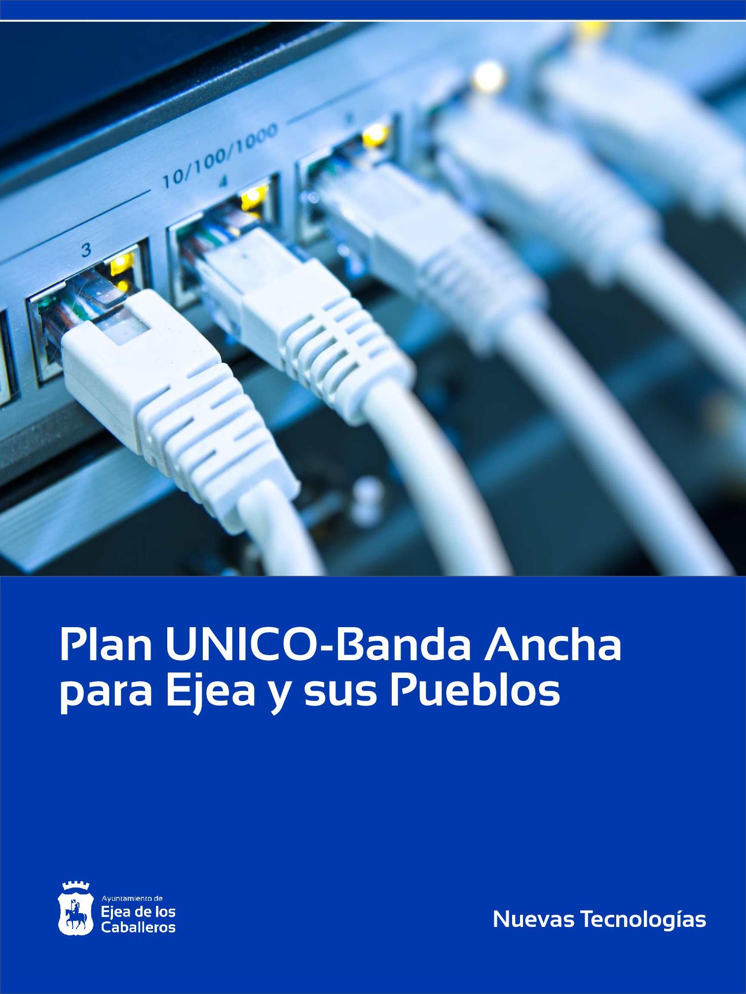 En este momento estás viendo Ejea solicita su inclusión y la de sus Pueblos en el Plan UNICO-Banda Ancha del Gobierno Central