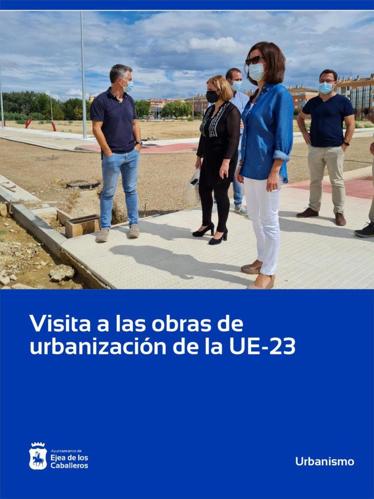Lee más sobre el artículo Visita a las obras de urbanización que está ejecutando la Junta de Compensación de la Unidad de Ejecución 23