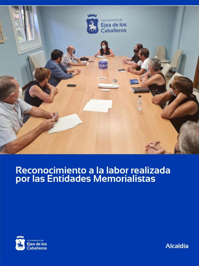 """Ejea solicita ser """"Lugar de Memoria Democrática"""" en recuerdo a las víctimas de la Guerra Civil y de la Dictadura"""