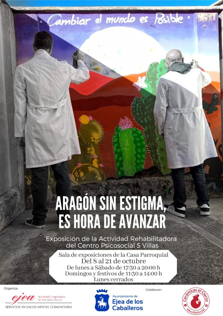 Lee más sobre el artículo Exposición «Aragón sin estigma. Es hora de avanzar»