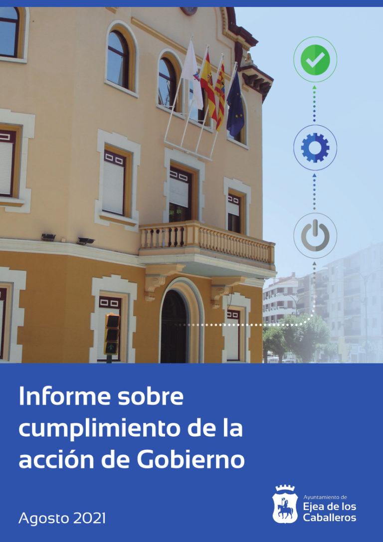 Lee más sobre el artículo El Ayuntamiento de Ejea de los Caballeros actualiza e informa sobre el cumplimiento de la acción de gobierno 2019 – 2023