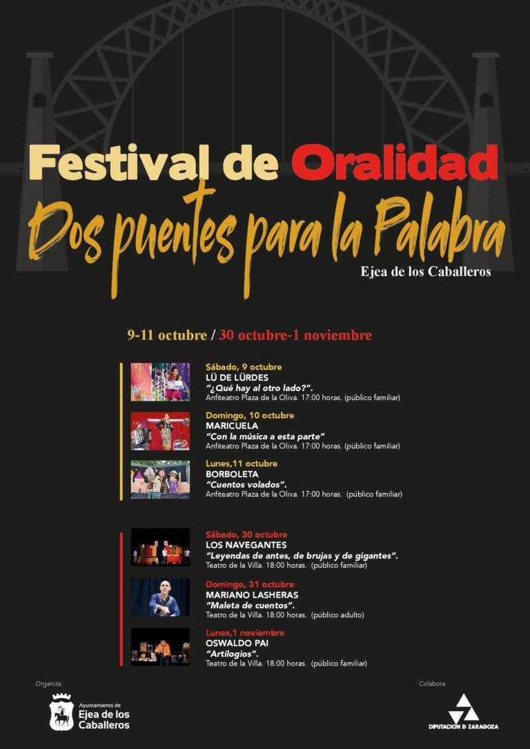 Lee más sobre el artículo Festival de Oralidad. Dos puentes para la palabra