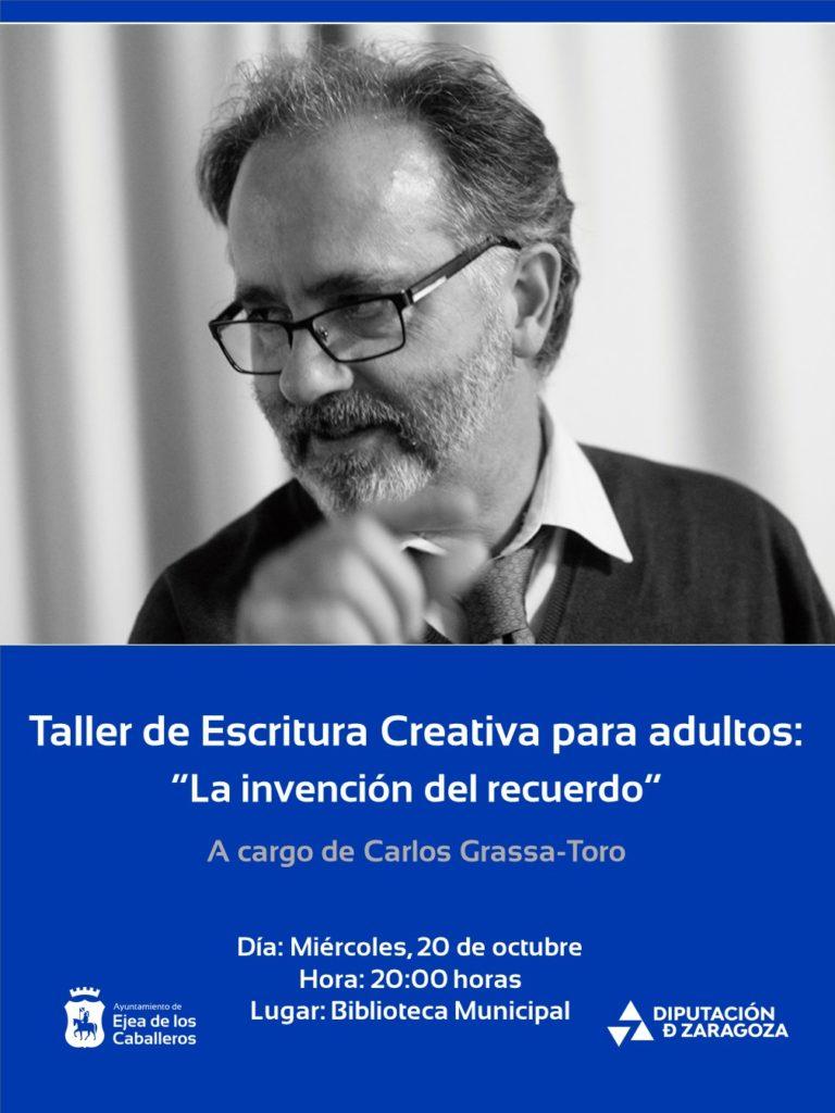 Lee más sobre el artículo Taller literario de escritura creativa para adultos