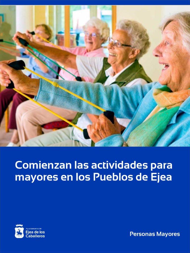 Lee más sobre el artículo Comienzan las actividades para mayores en los Pueblos de Ejea