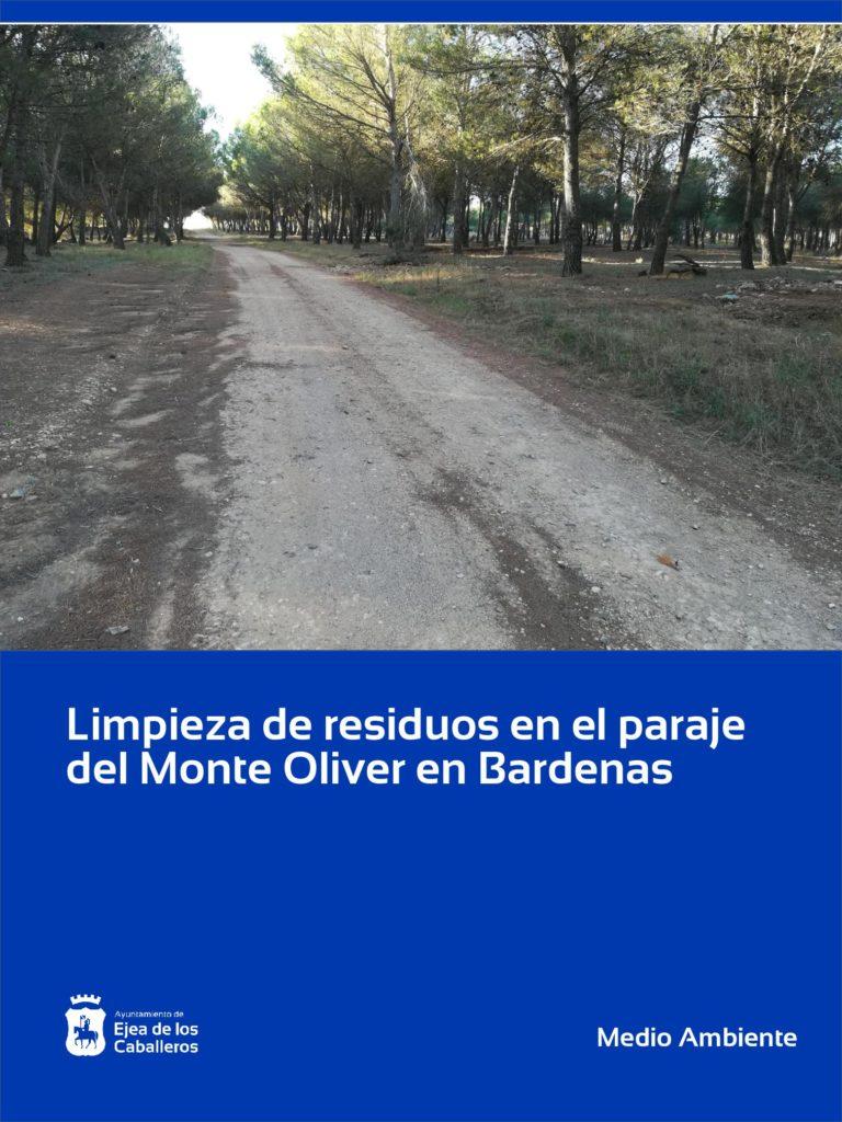 Lee más sobre el artículo Limpieza de residuos en el paraje del Monte Oliver en Bardenas