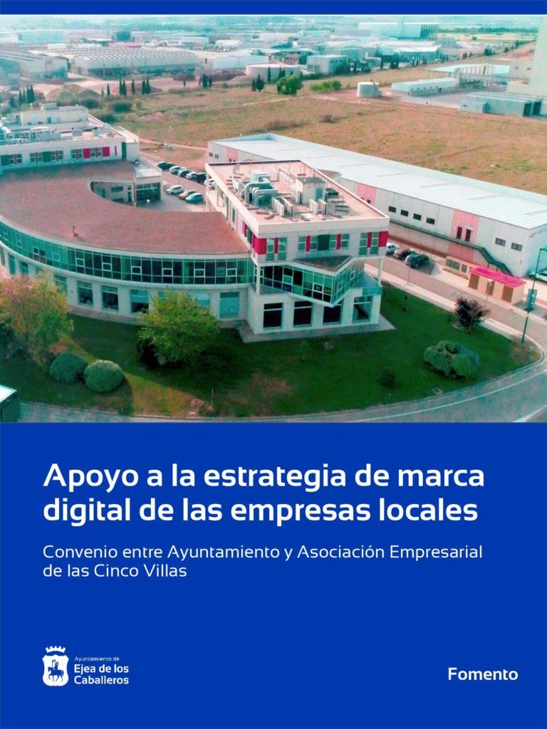 Lee más sobre el artículo El Ayuntamiento de Ejea apoya la estrategia de marca digital de las empresas locales