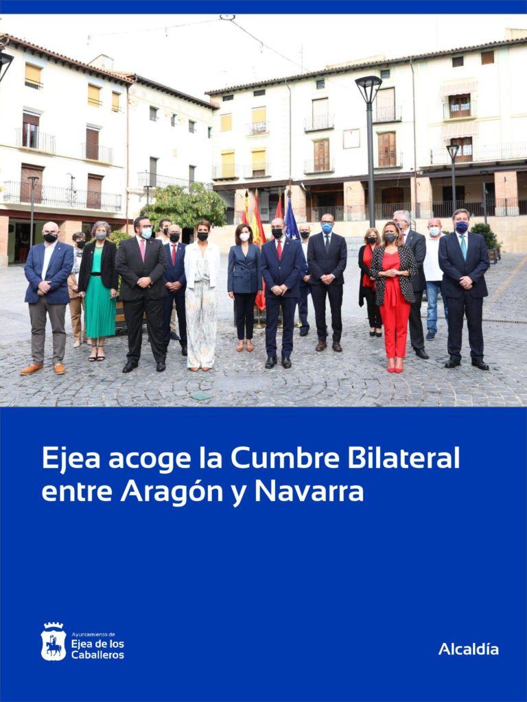 Lee más sobre el artículo Ejea de los Caballeros, sede de la Cumbre Bilateral entre Aragón y Navarra