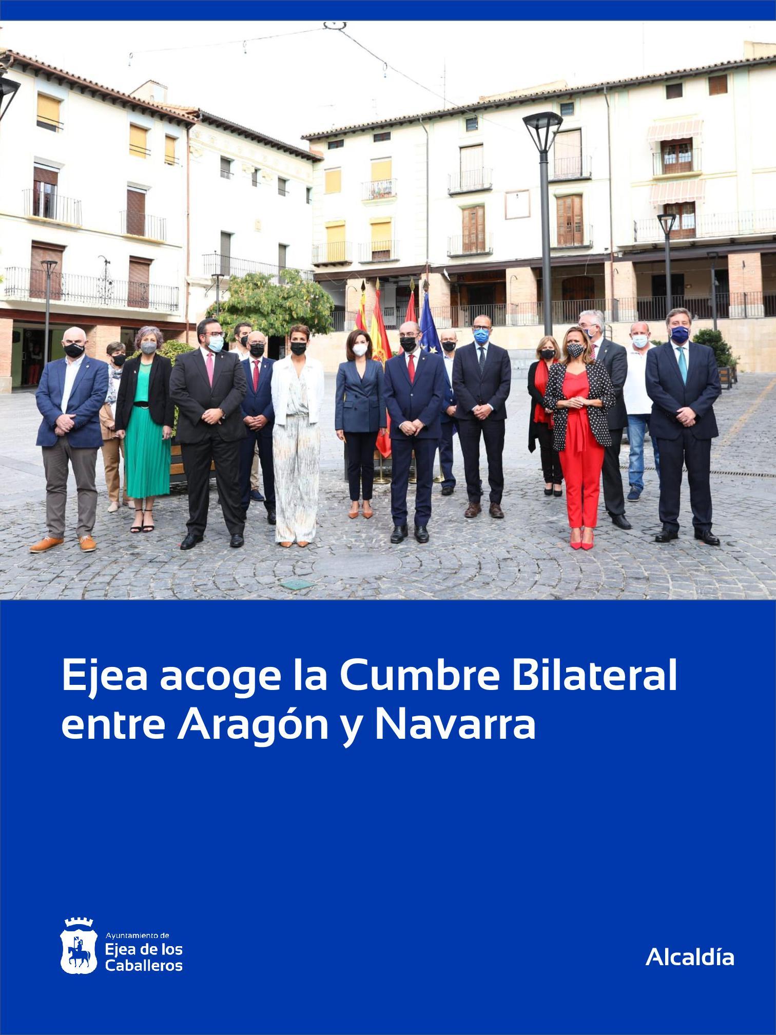 En este momento estás viendo Ejea de los Caballeros, sede de la Cumbre Bilateral entre Aragón y Navarra
