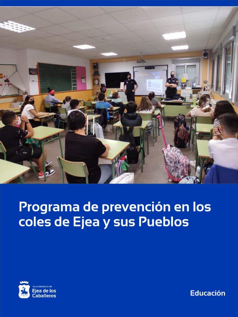 Lee más sobre el artículo Se pone en marcha el programa municipal de prevención en los coles de Ejea y sus Pueblos