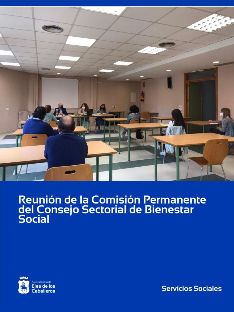 Lee más sobre el artículo Reunión de la Comisión Permanente del Consejo Sectorial de Bienestar Social de Ejea